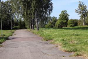 Västansjö hade flertalet bostadshus, men samtliga reva och i dag finns där bara grönska.