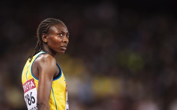 Sveriges Abeba Aregawi under friidrotts-VM den 25 augusti 2015 i Peking.