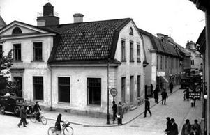 Östra kyrkogatan - Smedjegatan.