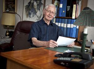 Byggmästare Rolf Almgren fyller 85 år den 4 juni.