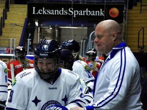 Christer Siik berättar hur Leksands IF arbetar kring sitt Riksserielag.