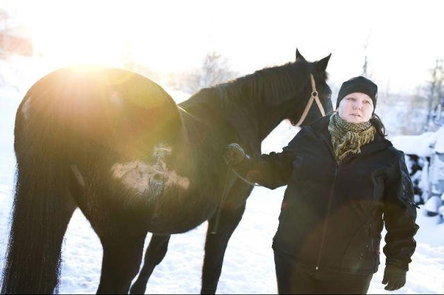 farlig attack med häst