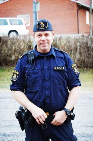 Fredrik Nylén är en av de ansvariga för grannsamverkan i Åre kommun.