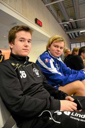 Lif:s Jesper Söderlund och Daniel Wiklund.
