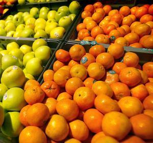 Invånarna i Hudiksvall äter förhållandevis lite frukt och grönt.