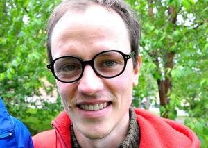 Claus Reichel är filmens producent och jobbar stenhårt med att locka sponsorer. Filmpool Jämtland fick bland annat påhälsning häromdagen.