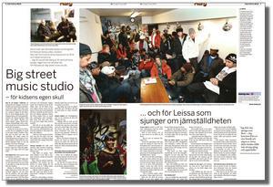 Den 27 mars 2009 skrev vi om studion. Då hade föreningen nyligen bildats och ett 50-tal av medlemmarna samlades på det trånga utrymmet.