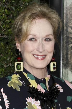 Meryl Streep var i samband med lanseringen av