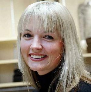 """Ellenor Pierre – då hon fyllde 30 och presenterades i GD som """"Jubilar""""."""