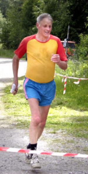 Anton Åkerblom har ställt upp i alla 25 Borgsjölopp som gått.
