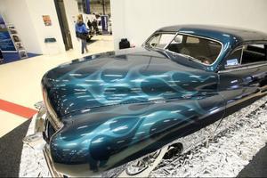 Det bästa med årets Motormässa, enligt mässgeneral Agne Ottosson, var det höga antalet äldre, upprustade bilar.