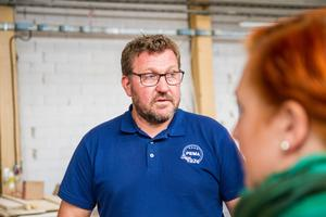 Pär Eriksson Roph Invest, vill att många olika intressen ska samlas i Hiablokalerna.