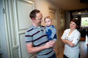Lille Sven, 11 månader, är familjens självklara ögonsten och har framtiden utstakad för sig, i alla fall om man frågar Christian.