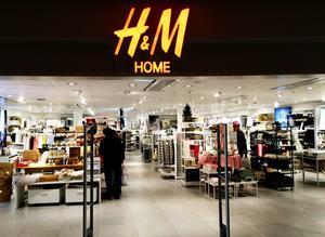 Butikskedjan H&M Home öppnar i Härnösand under hösten. Bilden är från butiken i Birsta.