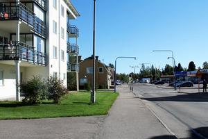 Den första etappen kommer att få en sträckning mellan rondellen och Långgatan  fram till Åkergatan.