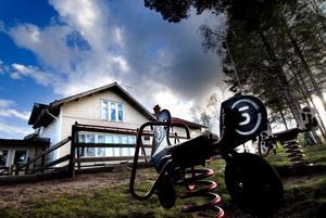 Skolan i Lumsheden avvecklas redan i höst. Foto: Johan Solum