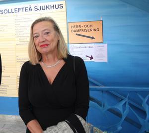 Karin Rågsjö, sjukvårdspolitisk talesperson för Vänstern.