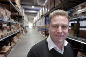 GSD i Hallsberg bara växer och växer. När Krister Green startade företaget var lagerytan 82 kvadratmeter. I dag - sju år senare - har den ytan utökats till 2 500 kvadratmeter.BILD: GÖRAN KEMPE