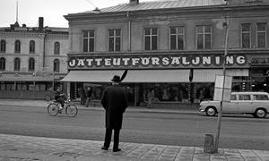 Bildminne. Epa Storgatan 3, 24 april 1968.