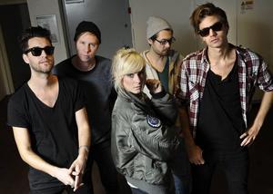 The Sounds är tillbaka med ett fjärde album. Nu satsar de på att erövra Sydamerika och Asien.