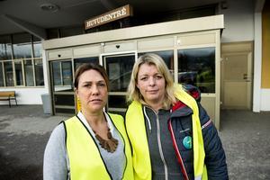 Stina Nyman och Annika Tjernström tvekar inte att kämpa för sjukhuset.