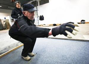 Ove Söderlund från Marmaverken diggar boule.