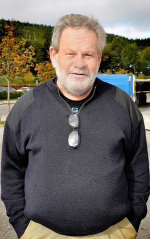 Lars Carlström, NjurundaFöretagarna, en av arrangörerna till Dyket dagen. Övriga är Akzo Nobel, Dykets intresseförening och Sundsvalls kommun.