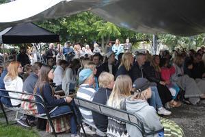 Sommartorsdag lockade som vanligt en stor publik.
