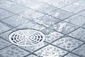 De allra flesta problemen i badrummet orsakas av golvbrunnen så var noga med att rensa den från hår, skräp och tvålrester som täpper till.   Foto: Shutterstock.com