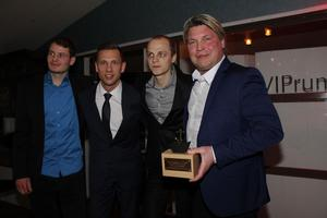 Rospiggarna speedway, John Lindman, Andreas Jonsson, Jacob Thorssell, Mikael Teurnberg.