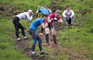 Svenska juniorlandslaget måste också köra barmarksträning. Under lördagen öppnade Rehns BK den möjligheten för de som inte ännu är på elitnivå.