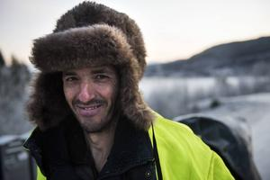 Paulo Teixeira gläds åt all vänlighet han möter i Sverige.