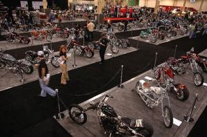 Årets VM i chopperbygge hölls på Mandalay Bay Convention Center i Las Vegas. Närmare 200 cyklar från 14 länder ställdes ut  den största samlingen rullande konstverk som någonsin har samlats på ett och samma ställe.
