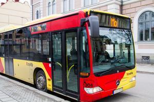 Linje 3 i Hudiksvalls stadstrafik drivs av X-Trafik och körs av Mohlins bussar.