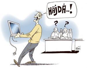 Tjuven togs för en initierad IT-tekniker på Mittuniversitetet.