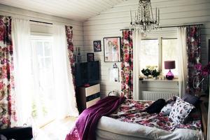 Sovrummet byggdes med hjälp av Git Gay-stipendiet som Lars-Åke fick 2009.