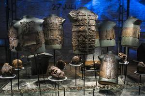 På Historiska museet i Stockholm har besökarna fullkomligen vällt in under de två första helgerna med gratis entré.