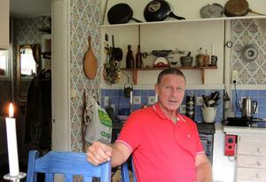 Carl-Johan när DT besökte honom i hemmet i Säter 2015.
