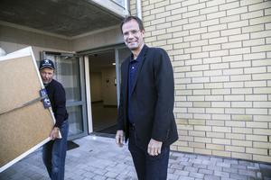 Göran Albertsson, vd Härnösandshus, är mycket nöjd med företagets utveckling.