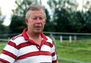 Janne Schön har tävlat i 40 år men klarat sig från några värre skador –ända till den olyckliga fredagen på Bollnästravet.