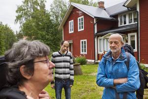 Elsa Nikku, Fredrik Nikku och Ossi Nikku har packat ryggsäckarna för att resa hem mot Motala igen. Fågelsjö var väl värt ett stopp, tycker de.