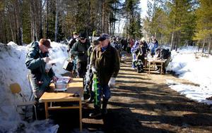 Det blev mycket fångst i Hedsjö i söndags