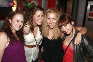 Silk, Malin, Sara, Hanna, Emilie