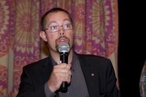 Blivande kommunalråd? Kommunstyrelsens vice ordförande Tobias Norlander (S) lovade utbyggnad av vårdplatser.