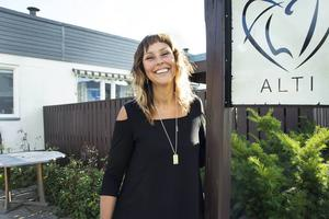 Åsa Backman har blivit nominerad till årets Innovatör på Sundsvall Business Awards för hennes nya steg för hennes Alti