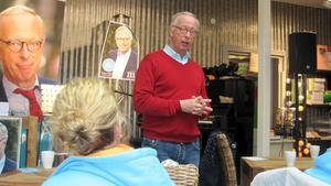 Gunnar Hökmark besökte Västerås och Global Living på lördagseftermiddagen.