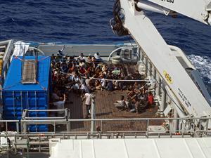 Trycket på den italienska gränsen har ökat enormt under de senaste åren.