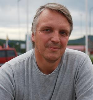 Per Olofsson, gatuingenjör på Härjedalens kommun (arkivbild)