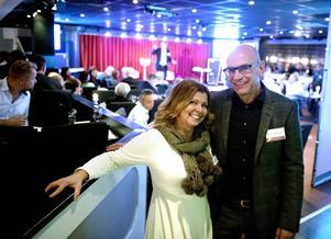 Carina Jonasson och Nicke Jonasson från bolaget Recond concept och Descale AB såg fram mot kvällens mingel och att knyta nya kontakter.