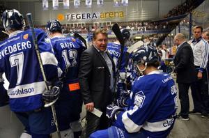 Andreas Appelgren kan vara på väg att lämna Leksand – trots en succéartad inledning på kvalserien. Foto: Nisse Schmidt/DT